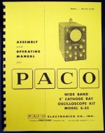 "Paco Wide Band 5"" Oscilloscope Kit  Model S-55.jpg"