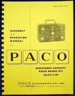 Paco Resistance Capacitance Ratio bridge Kit  Model C-20.jpg