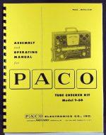 Paco T60 T-60 Tube Tester Kit Manual.jpg