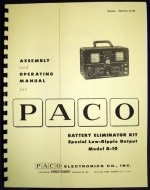 Paco B-10  Battery Eliminator Kit .jpg