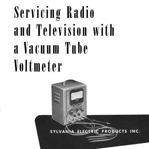 Sylvania Model 139 Tube Tester Manual   Glendale Manuals