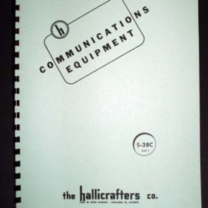 Hallicrafters HA-1 HA1 T.O.Keyer Manual | Glendale Manuals